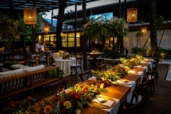 Registro de decoração e festa de reveillon do Juquehy Praia Hotel em 31/12/2020.